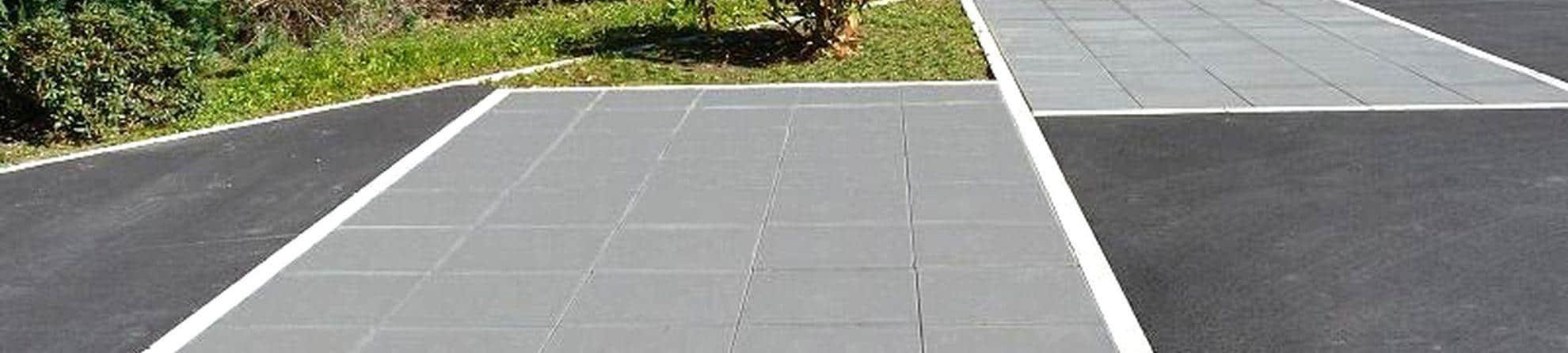 Dalle Beton Pour Allee dalle en beton terrasse jardin allee garage - interblocs